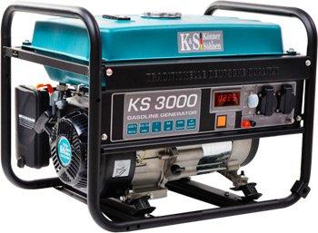 Бензиновыйгенератор 3 кВт KÖNNER&SÖHNEN KS 3000 открытого типа