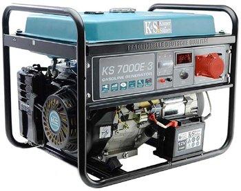 Генератор бензиновый 5 кВт Könner&Söhnen KS7000E-3 открытого типа
