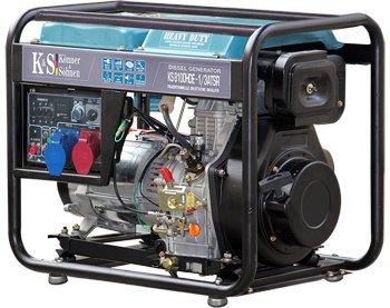 Генератор дизельный 6,5 кВт Könner & Söhnen KS 8100HDE-1/3 ATSR открытого типа