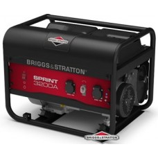 Генератор бензиновый 2,5 кВт Briggs&Stratton Sprint 3200A открытого типа
