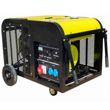 Бензиновыйгенератор 10 кВт DALGAKIRAN DJ14000BG-TE открытого типа