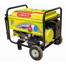 Бензиновыйгенератор 6 кВт DALGAKIRAN DJ8000BG-TE открытого типа