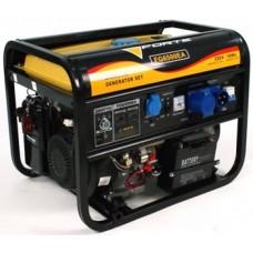 Бензиновый генератор 5кВт Forte FG6500EA открытый