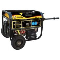 Бензиновая электростанция 7 кВт Forte FG9000E открытая
