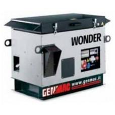 Бензогенератор 10 кВт Genmac Wonder G12100KSE в кожухе