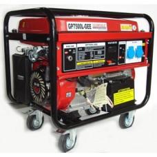 Генератор бензиновый 7 кВт Glendale GP7500L-GEE/1 открытого типа