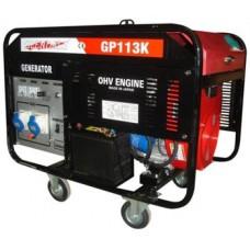 Генератор бензиновый 10 кВт Glendale Honda GP113K открытого типа