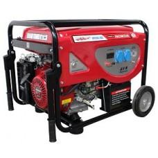 Электростанция бензиновая 6 кВт Glendale Honda GP6500L-GEE/1 открытого типа