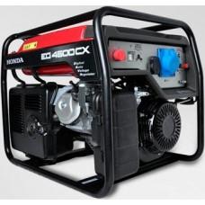 Бензиновый генератор 4 кВт HONDA EG4500CX открытого типа