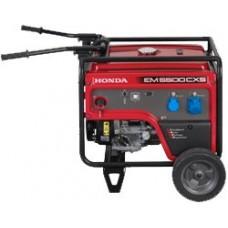 Бензиновый генератор 5 кВт HONDA EM5500CXS2 открытого типа