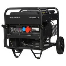 Генератор бензиновый 10кВт HYUNDAI HY 12000LE-3 открытого типа