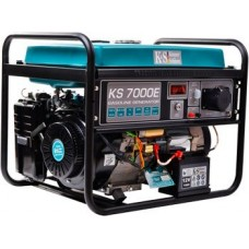 Бензиновый генератор 5 кВт KÖNNER&SÖHNEN KS 7000E открытого типа