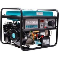 Бензогенератор 5 кВт KÖNNER&SÖHNEN KS 7000E G открытого типа