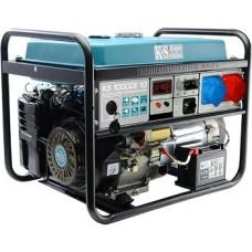 Бензиновая электростанция 8 кВт Könner&Söhnen KS 10000E-1/3 открытого типа