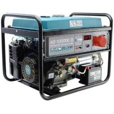 Бензиновый генератор 8 кВт Könner&Söhnen KS 10000E ATS-3 открытого типа