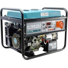 Генератор с автозапуском 5 кВт Könner&Söhnen KS 7000E ATS-3 открытого типа