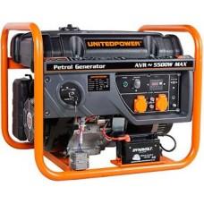 Генератор бензиновый 6 кВт UNITED POWER GG7300E открытого типа