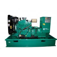 Электрогенератор дизельный CUMMINS C110D5 открытого типа