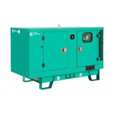 Дизельный генератор 20 кВт CUMMINSC28D5 в кожухе