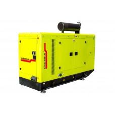 Электрогенератор дизельный DALGAKIRANDJ120NT в кожухе