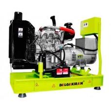 Дизельная электростанция DALGAKIRAN DJ120NT открытого типа
