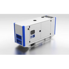 Электрогенератор дизельный FGWILSONP26-3S в кожухе