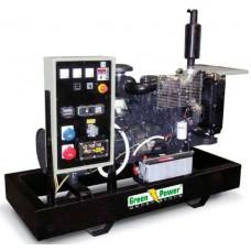 Электрогенератор дизельный GREEN POWER GP110I открытого типа