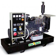 Электрогенератор дизельный GREEN POWER GP176I-N открытого типа