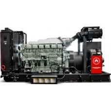 Электрогенератор 1000 кВт HIMOINSA HTW-1260 T5 открытого типа