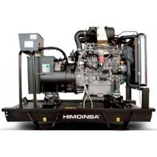 Генератор дизельный HIMOINSA HYW-45 T5 открытого типа