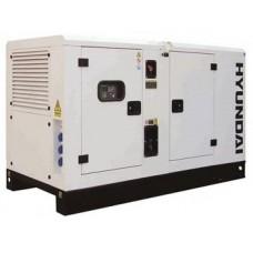 Дизельная электростанция 18 кВт HYUNDAI DHY18KSEm в кожухе