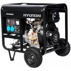Дизель генератор 5 кВт HYUNDAI DHY 6000LE открытый