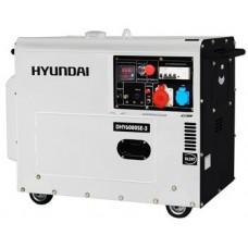 Дизель генератор DHY 6000SE-3 HYUNDAI (ЮЖНАЯ КОРЕЯ)