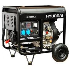 Генератор дизельный 6 кВт HYUNDAI DHY 8000LE открытый
