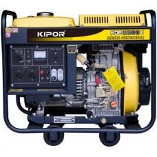 Дизельная электростанция 5 кВт KIPOR KDE6500E открытого типа
