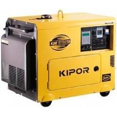 Генератор дизельный 5 кВт KIPOR KDE6700TAO в кожухе
