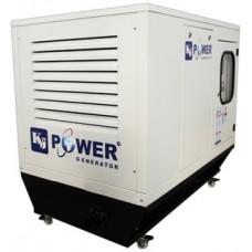 Генератор дизельный 30 кВт KJ POWER KJA 40 открытого типа