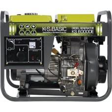 Дизельный генератор 5 кВт Könner&Söhnen KS 6000DE открытого типа