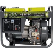 Дизельная электростанция 6 кВт Könner&Söhnen KS 8000DE ATSR открытого типа