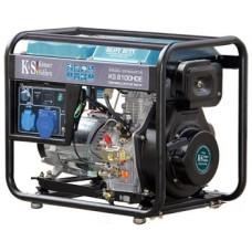 Дизель генератор 6,5 кВт Könner & Söhnen KS 8100HDE открытого типа