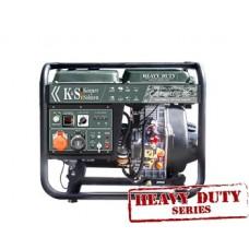 Дизельный генератор 6,8 кВт Könner & Söhnen KS 9000HDE-1/3 ATSR открытого типа