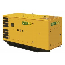Дизельный генератор 500 кВт M.A.B. POWER SYSTEMS AD660 в кожухе