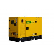 Дизельный генератор 12 кВт M.A.B. POWER SYSTEMS APD12MA в кожухе