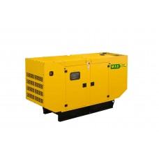 Дизельная электростанция M.A.B. POWER SYSTEMS APD150A в кожухе