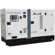 Дизельная электростанция 80 кВт Matari MC80 в кожухе