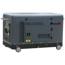 Генератор дизельный 10 кВт Matari MDA12000SE-3 в кожухе