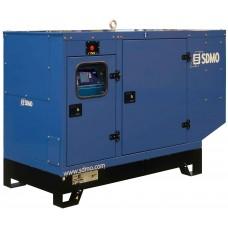 Дизельный генератор 60кВт SDMO J77K в кожухе
