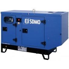 Дизельный генератор 12 кВт SDMO K16H в кожухе