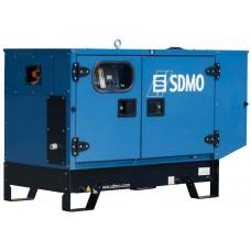 Дизельный генератор 10 кВт SDMO T12HK в кожухе