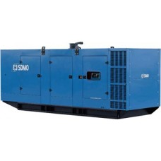 Дизельный генератор 1000кВт SDMO X1250 в кожухе